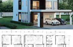 6 Bedroom Modern House Beautiful House Design Plan 8x17m With 6 Bedrooms House Plan Map In