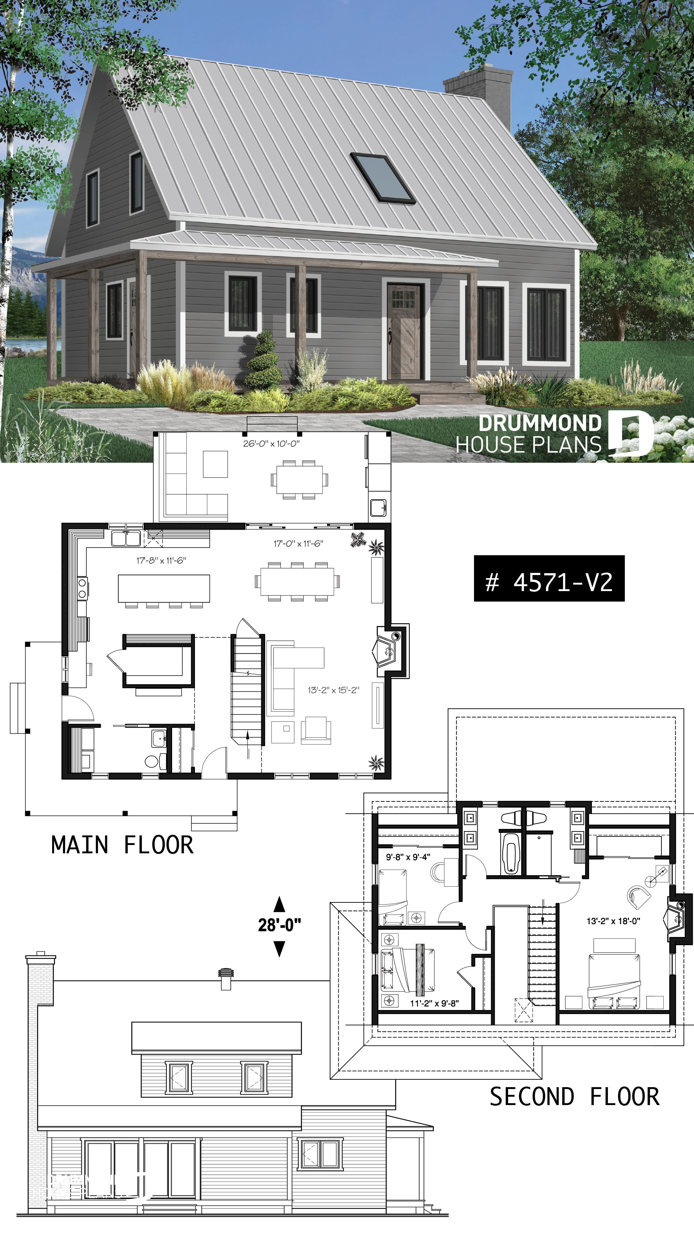 American Small House Plans Best Of Country American Home with 3 Bedrooms 2 5 Bathrooms Open
