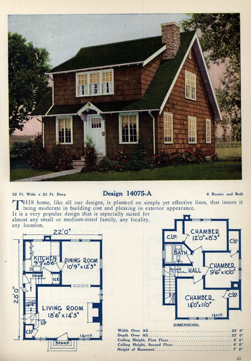 American Small House Plans Fresh American Home Designs – Vintage House Plans In 2020