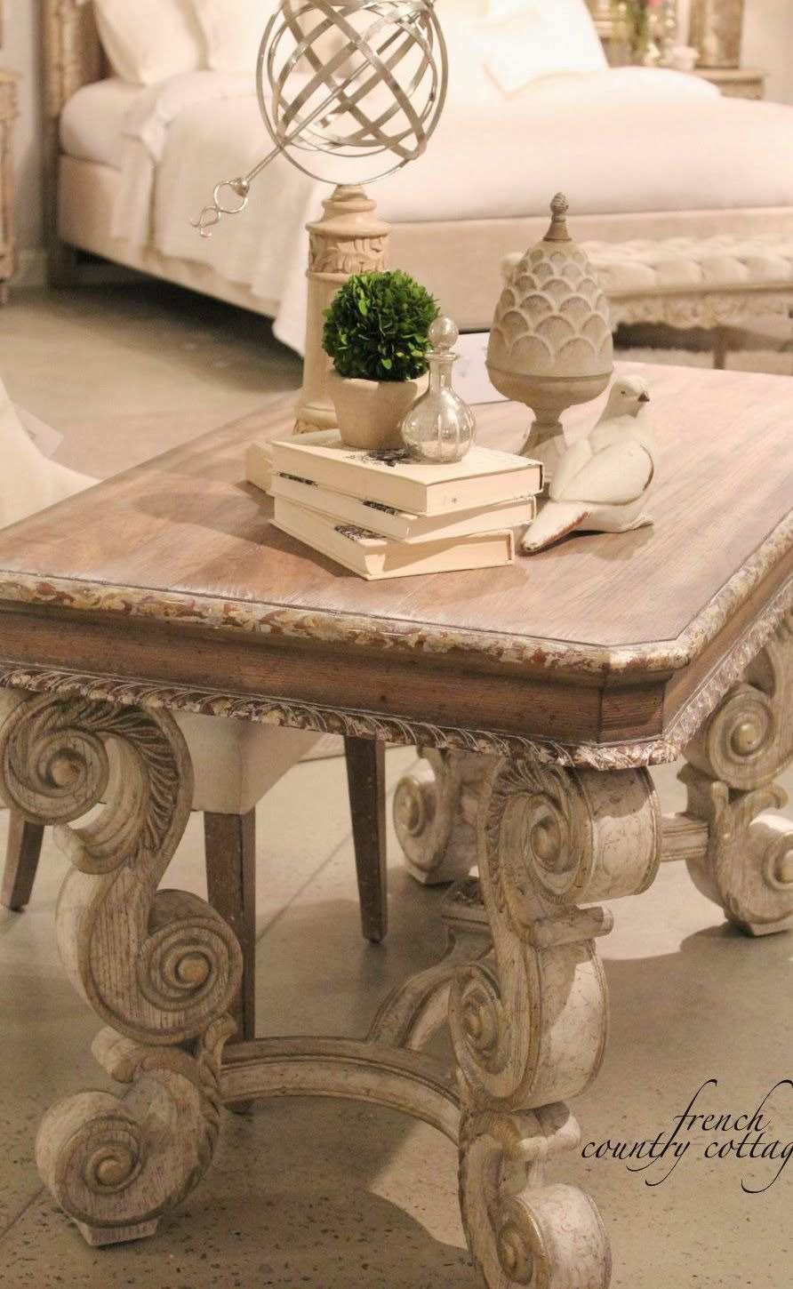 Antique Country French Furniture Luxury High Point Market Accentrics Home