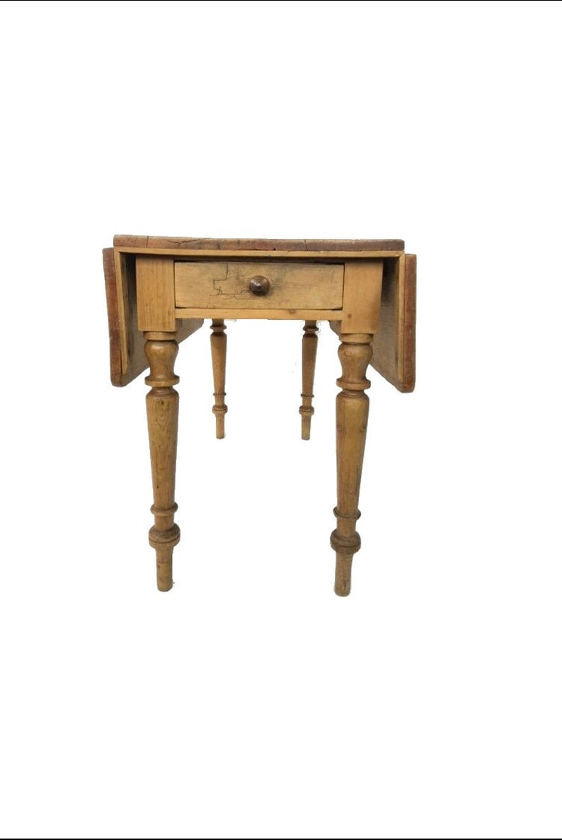 Antique English Pine Furniture Lovely Antique English Country Scrubbed Pine 3 5ft Drop Leaf Table C1890