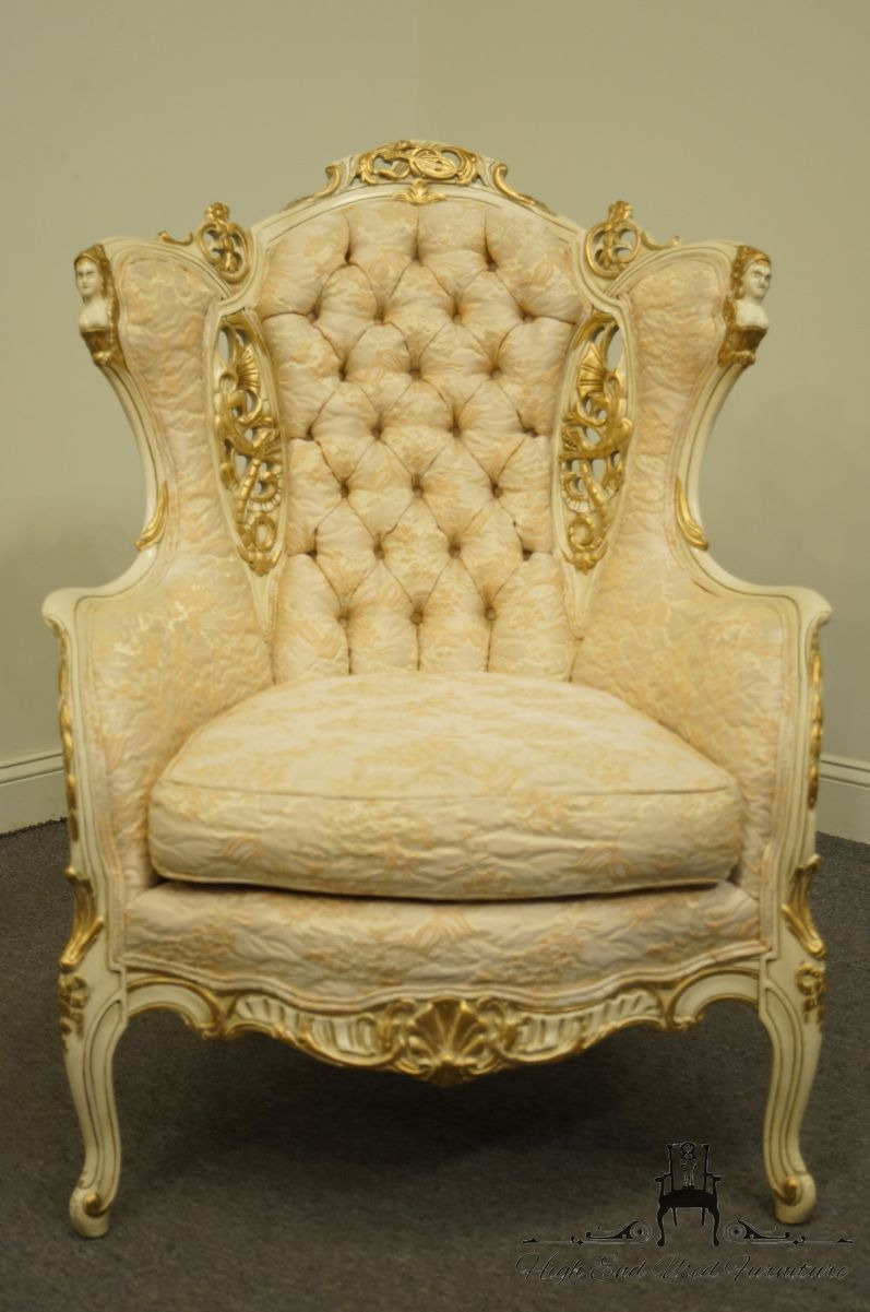 Antique French Provincial Furniture Fresh Details About Virgilio Furniture Chicago Il Louis Xvi French Provincial Cream F White T