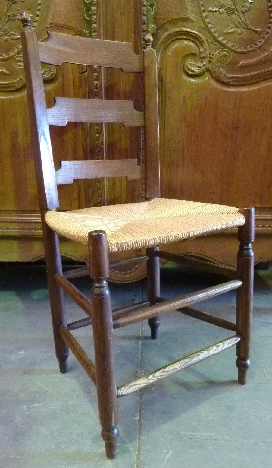 a set of 16 french provincial chairs