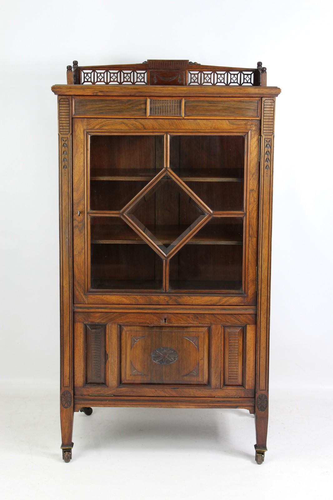 Antique Furniture Makers List New Victorian Rosewood Music Cabinet La