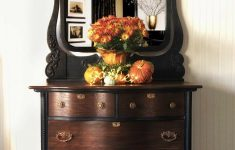 Antique Furniture Near Me Awesome Black And Brown Create The Perfect Pair On This Low Chest