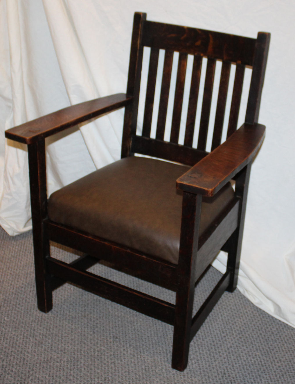 Antique Mission Style Furniture Best Of Antique Mission Oak Armed Chair Arts and Crafts Style