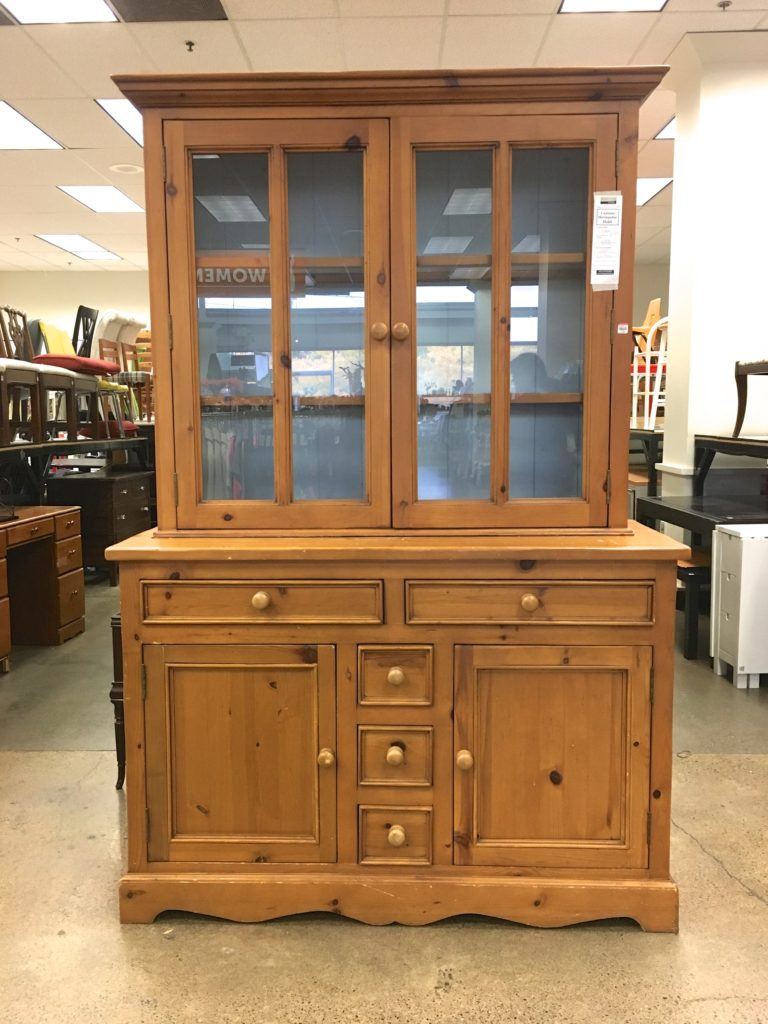 Antique Pine Furniture Seattle New Knotty Pine China Hutch Makeover Saw Nail and Paint