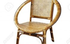 Antique Wicker Furniture Styles Luxury Vintage Wicker Chair Isolated On A White Background