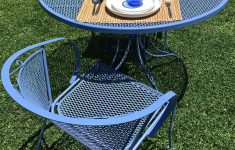 Antique Wrought Iron Patio Furniture Awesome Vintage Wrought Iron Painted Set