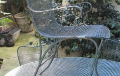 Antique Wrought Iron Patio Furniture Beautiful Vintage 5 Piece Woodard Wrought Iron Patio Table And 4 Chairs