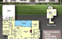 Architectural Plans For Sale Inspirational Plan Hz 3 Bed New American House Plan With Bonus Room