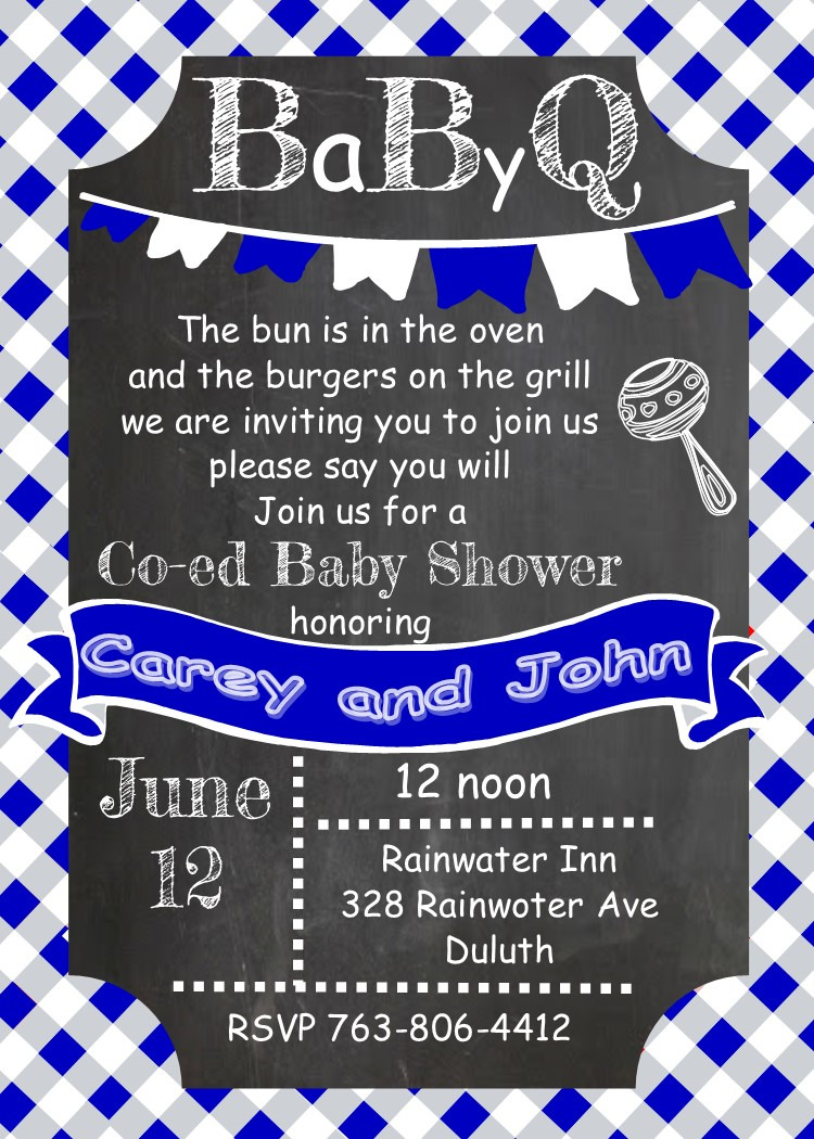 barbecue clipart baby shower 6