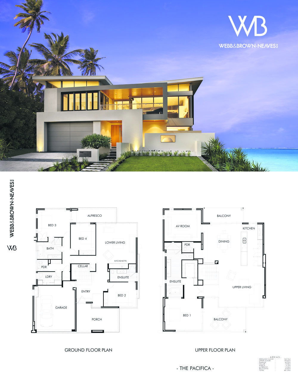Beach Homes Designs and Plans Inspirational the Pacifica by Webb and Brown Neaves See It at 70