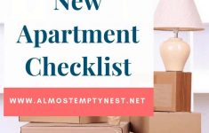 Bed Bath And Beyond Apartment Checklist Awesome New Apartment Checklist Almost Empty Nest