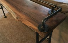 Behind Sofa Bar Table Inspirational Live Edge Black Walnut Sofa Bar Table Restaurant Counter