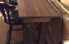 Behind Sofa Bar Table Luxury Bar Table I Made For Behind Couch