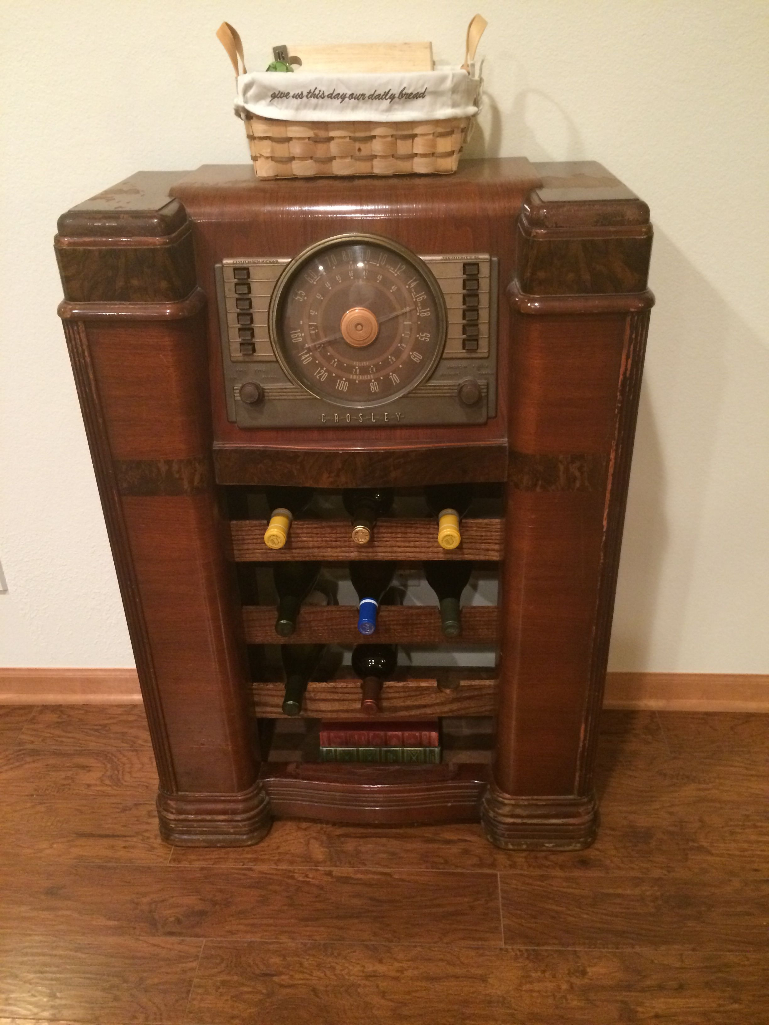 Best Glue for Antique Wood Furniture Lovely Pleted Project Antique Radio Wine Rack
