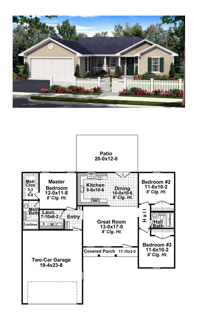 Best Ranch House Plans Ever Beautiful Ranch House Plan Chp