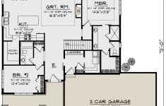 Best Ranch House Plans Ever Luxury House Plan 1020 Craftsman Plan 1 736 Square Feet 2
