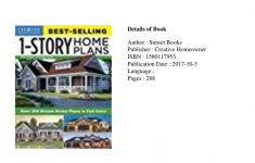 Best Selling House Plans 2017 Best Of Ebook Best Selling 1 Story Home Plans Updated 4th Edition
