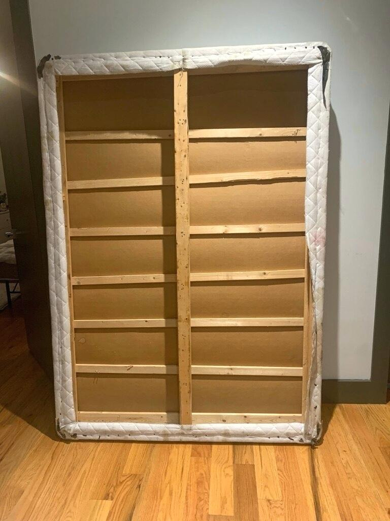 sold full size box spring from bobs furniture store in new closet discount armoire
