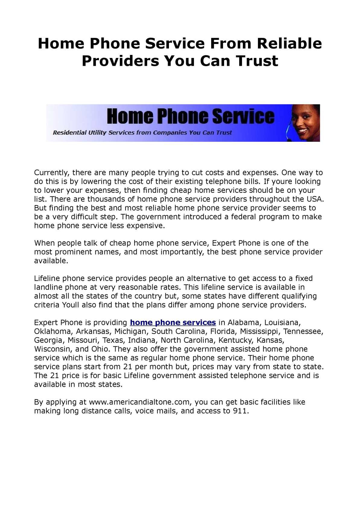 Cheap House Phone Plans Inspirational Calaméo Reliable Home Phone Service Provider
