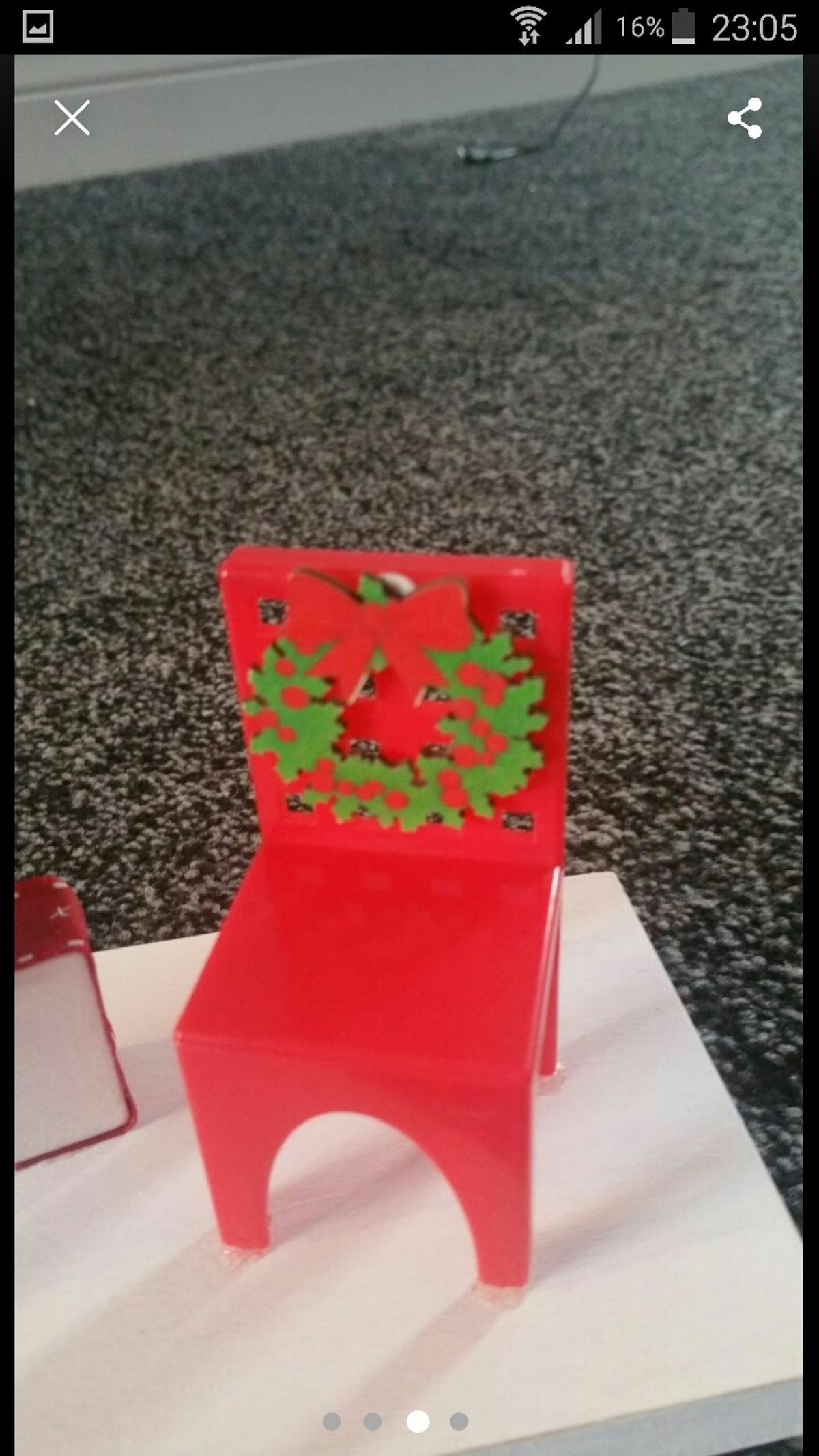 Christmas In Heaven Blocks with Chair Luxury Christmas In Heaven Block In Bd19 Kirklees for £10 00 for