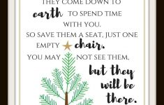 Christmas In Heaven Chair Elegant Free Christmas In Heaven Printable You Will Love