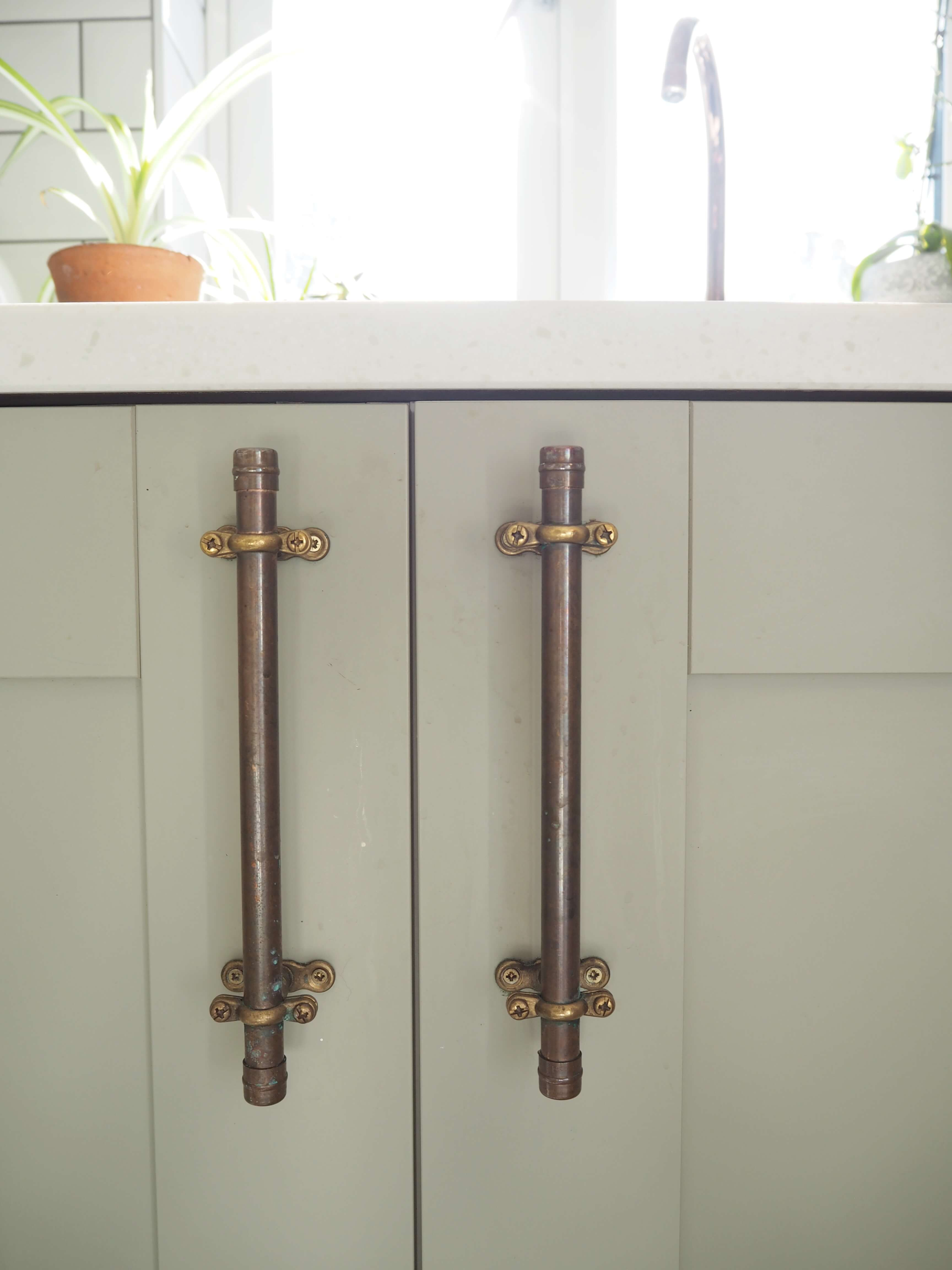 Copper Kitchen Pulls New Diy Copper Pipe Drawer Pulls Welovehome