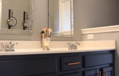 Copper Kitchen Pulls New Navy Cabinets Copper Hardware Pulls Venetian Style Mirrors