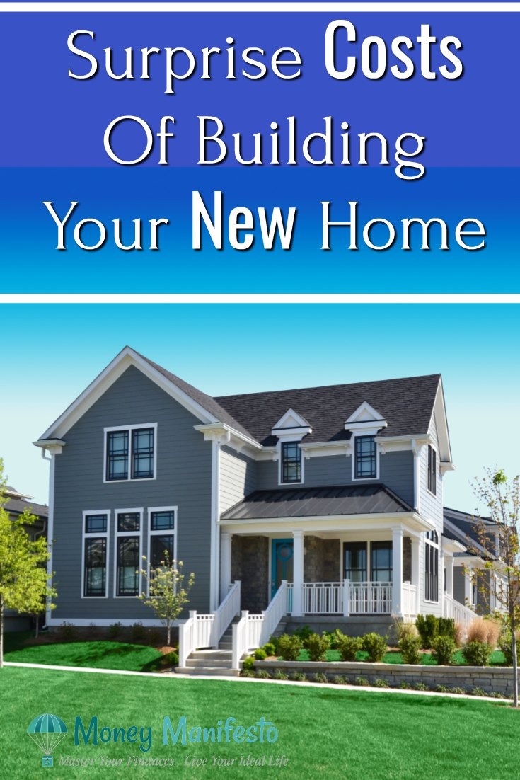 Surprise Costs of building your new home