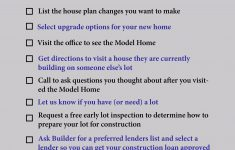 Cost To Build On Your Own Lot Lovely Checklist Of What To Do When You Want To Build A Home The
