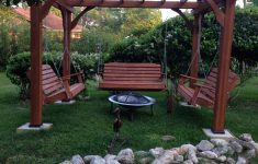 Costco Gazebo 12x14 Lovely Great Outdoor Area With Pergola Swings And Fire Pit