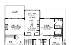 Craftsman Style House Plans One Story New Traditional Style House Plan With 2 Bed 2 Bath 2