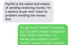 "Craigslist Free Stuff Miami Dade Luxury Is This A Scam How Can He Scam If He Paypal "" Ts"" It Imgur"