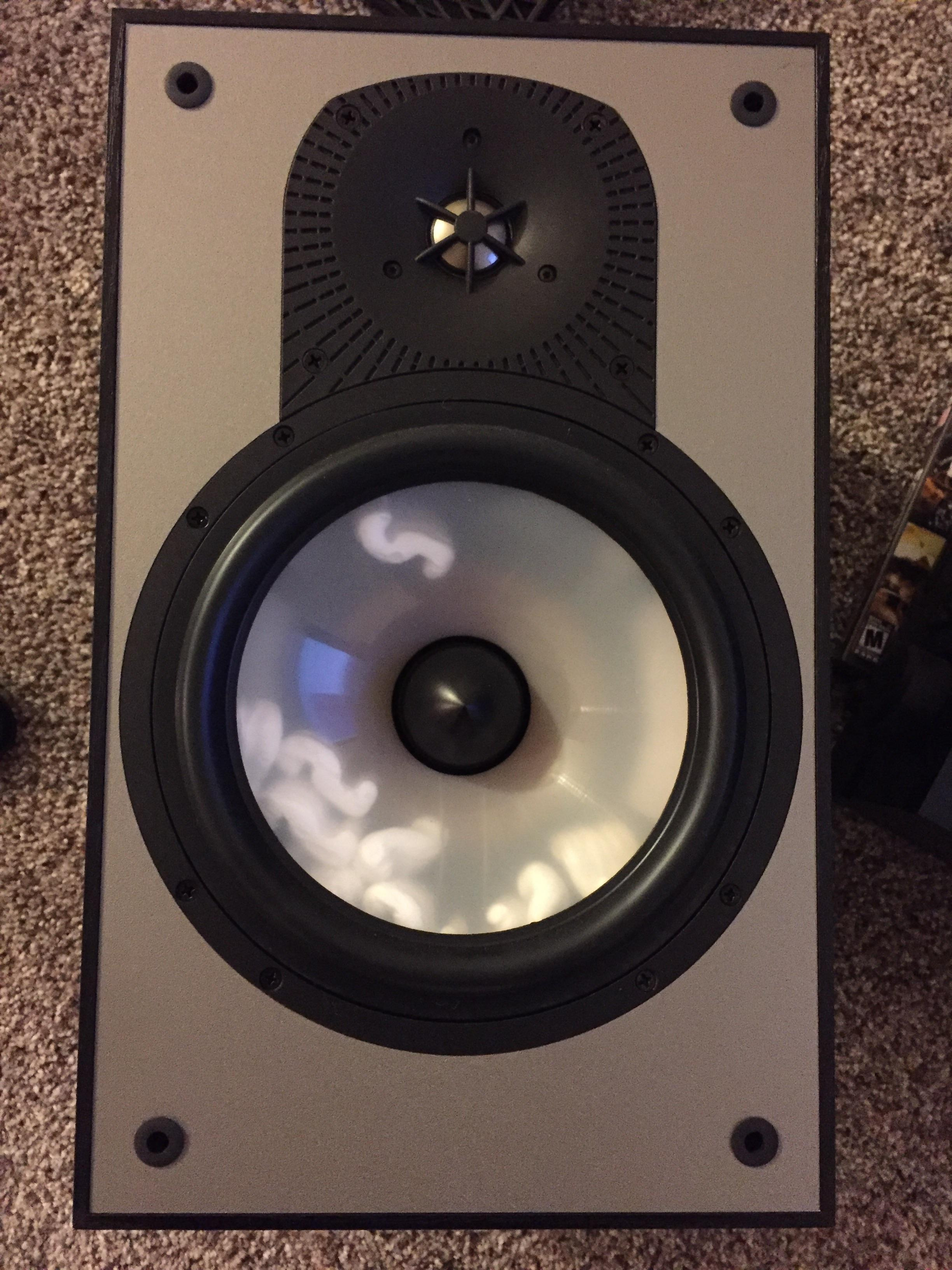 this speaker i bought on craigslist had packing