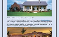 Custom Luxury House Plans Unique Custom House Design And Luxury House Plans To Fulfill Your