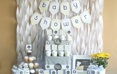 Diy Baby Shower Centerpieces Boy Awesome Gray & Yellow Baby Shower Decorating Ideas Love Of Family