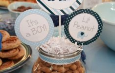 Diy Baby Shower Centerpieces Boy Inspirational Contemporary Baby Elephant Shower Idea Delightful Design