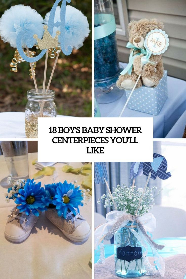 Diy Baby Shower Centerpieces Boy New 20 Ideas for Diy Baby Shower Centerpieces Boy