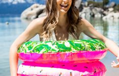 Diy Pool Float Beautiful Printed Fabric Diy Pool Floats • A Subtle Revelry