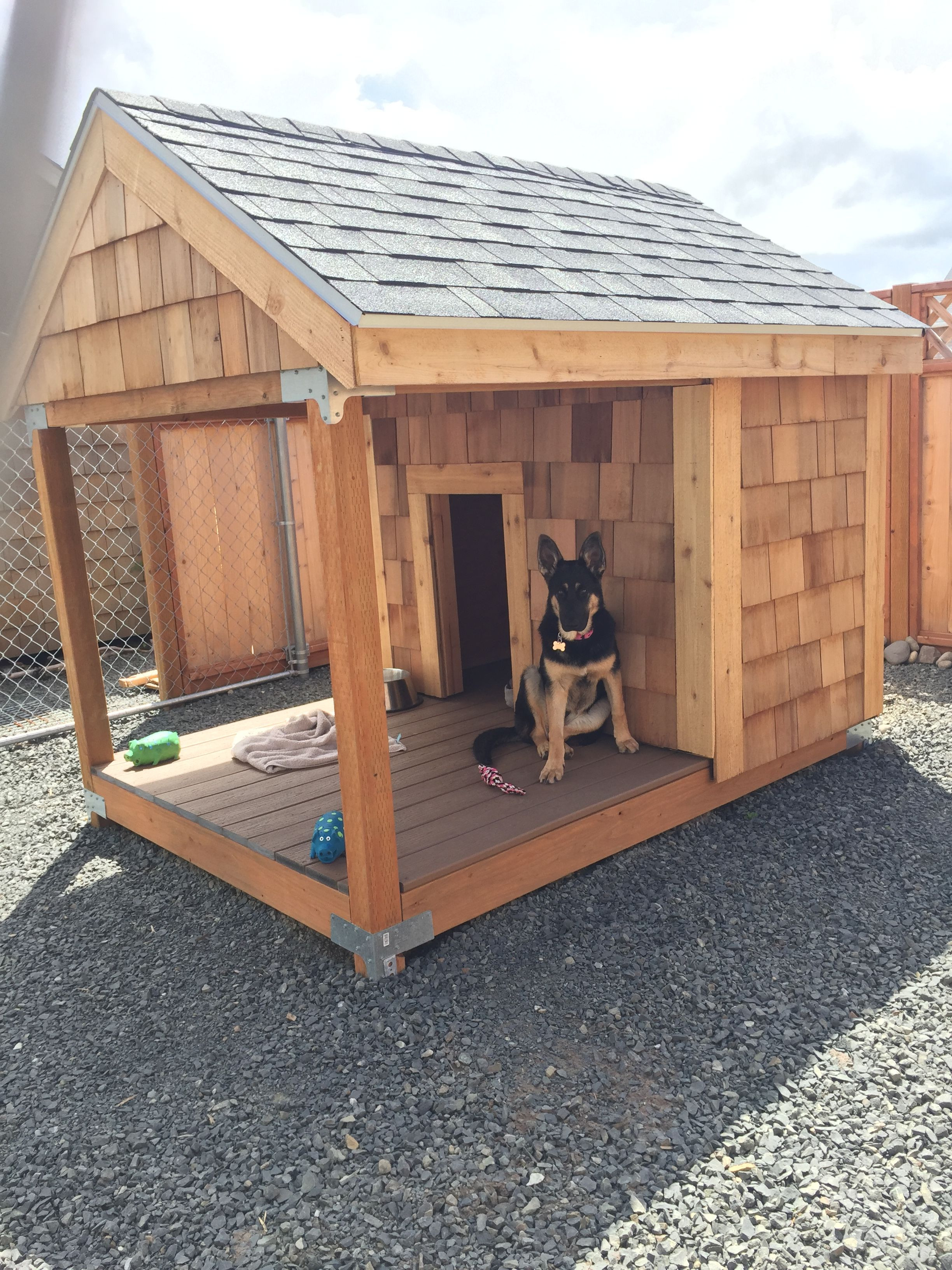 Dog House Plans for Two Dogs Inspirational This One Will Work
