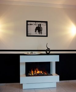 Double Sided Electric Fireplace Lovely Closed Electric Hearth 1 Sided Metal Concept Nr 4 El