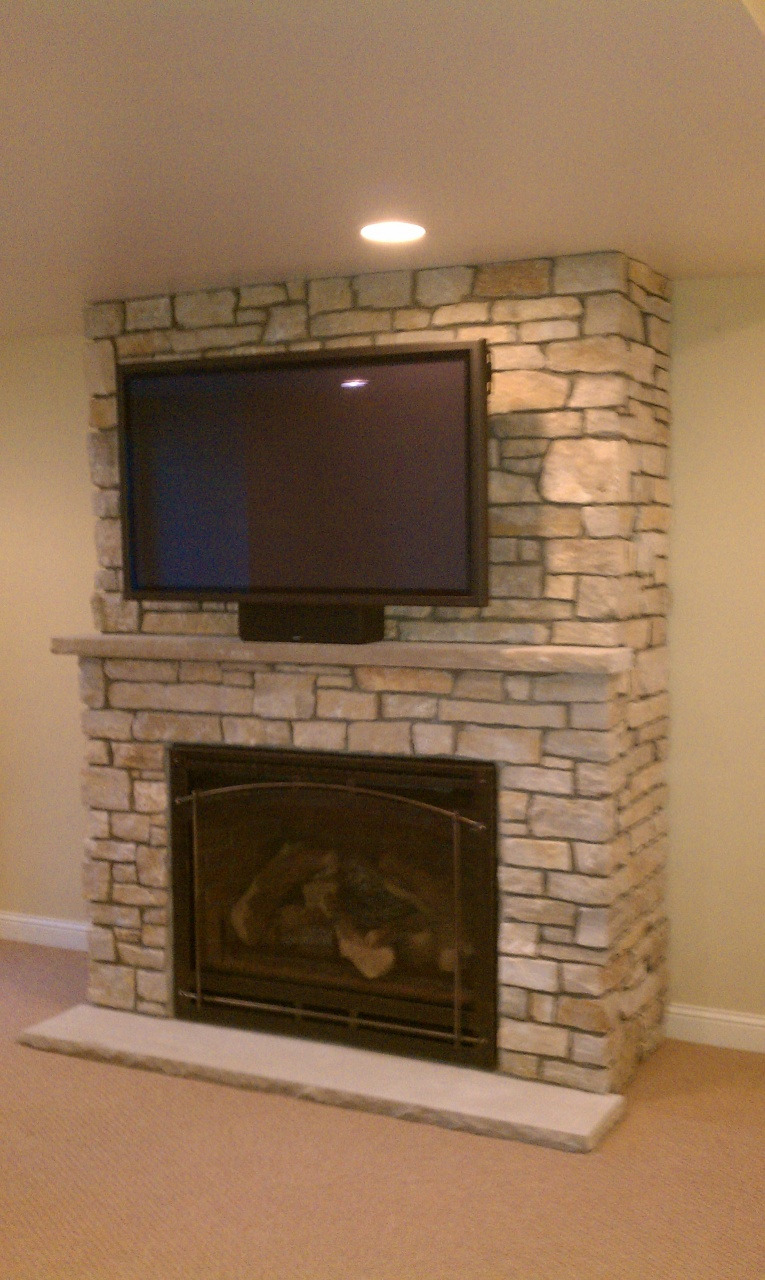 mounting tv over gas fireplace interior find stone fireplace ideas fits perfectly to your from mounting tv over gas fireplace