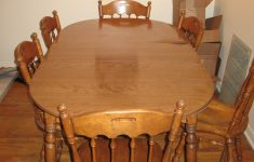 Ethan Allen Antique Furniture Elegant Ethan Allen Dinette Set P Nutmeg Table And Six Chairs