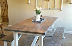 Farm House Table Plans Beautiful Diy Farmhouse Table
