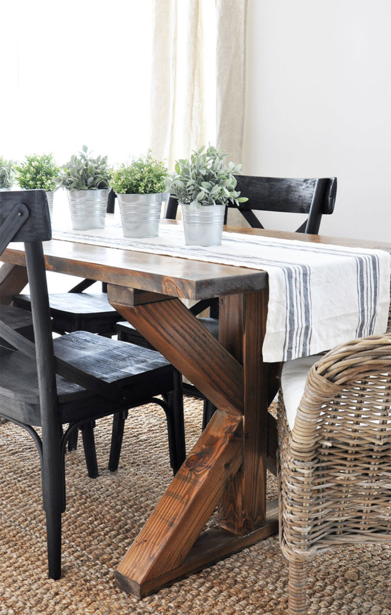 Farm House Table Plans Best Of 20 Gorgeous Diy Dining Table Ideas and Plans – the House Of Wood