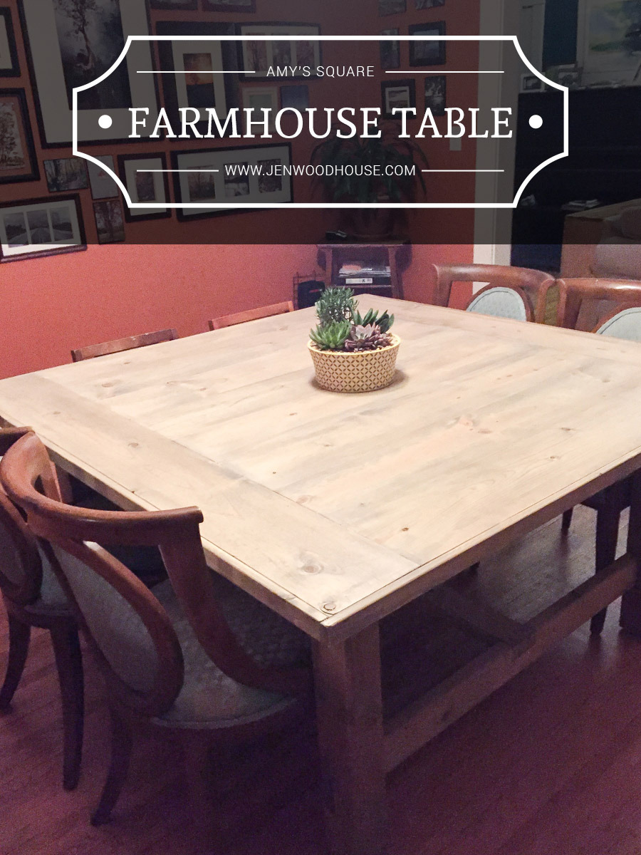 Farm House Table Plans Best Of How to Build A Diy Square Farmhouse Table Plans