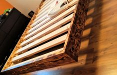 """Floating Queen Bed Frame Unique Little Project Of Mine Made A """"floating Bed """" Woodworking"""