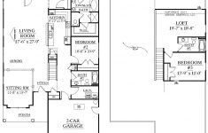 Floor Plan For One Story House New House Plan 2344 Arcadia Floor Plan Traditional 1 1 2 Story